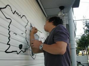 JUNKURO-CAFE-手描きサイン